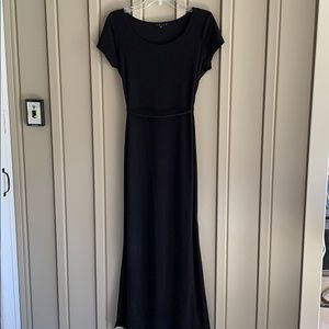 Tiana B. Long Black Dress Size Medium